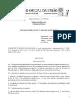 Portaria Normativa Prouni 2011 2