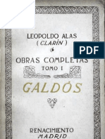 Leopoldo Alas - La Desheredada