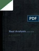 H.L. Royden - Real Analysis