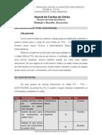 48519586 Ponto Dos Concursos Redacao Oficial e Discursiva TCU 2009