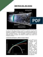 Parámetros del Big Bang