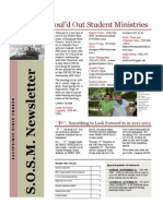 Sosm Newsletter 1