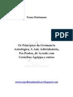 Os Princípios da Geomancia - Franz Hartmann
