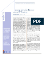 Learning From Koreas Green IT