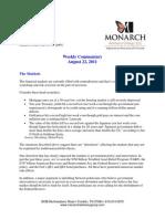 The Monarch Report 8-22-11
