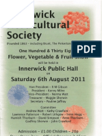 Innerwick Horticultural Society 2011