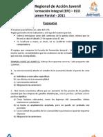 EFI-ECO. Examen Parcial