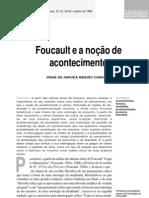 CARDOSO Foucault e a noção de acontecimento