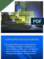 Procesos de Soldadura y Corte