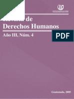 Revista de Derechos Humanos, Año III, No. 4, 2005