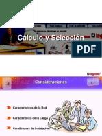 CÁLCULO Y SELECCIÓN