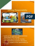 Unit 1 Driving Responsibility - G