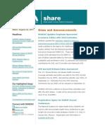 Shadac Share News 2011aug22
