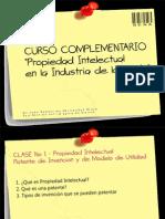 Clase 1 Complement a Rio Propiedad Intelectual