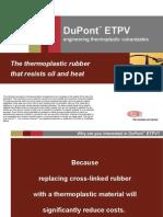 DuPont ETPV Customer Presentation 1 2006