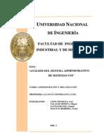 Monografía de SISTEMAS UNI Final