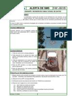 LECCIONES APRENDIDAS. INVESTIGACION ACCIDENTE REVISION CABLEADO