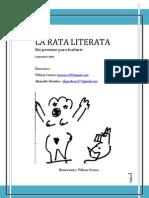La Rata Literata- Número 1 Septiembre de 2008