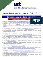 Newsletter ROAMET 08