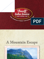 Banff Lake Louise Consumer Brochure