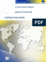 Supplementary Report Cayman Islands_August 2011