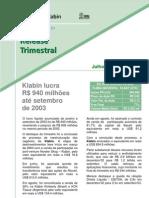 KRelease2003 3 Tri