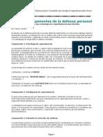 7 Componentes de La Defensa Personal