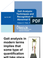 Gait Analysis Techniques and Abnormal Patterns_AAA