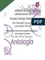 Antologia de Toma de a