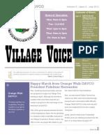 MAR 2011 Newsletter