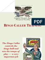 Bingo Caller Training PPT