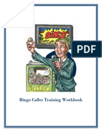 Bingo Caller Training Workbook