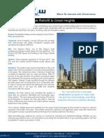 One America Plaza - Print Quality