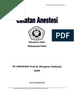 Catatan Anestesiku