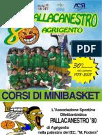 Brochure Pallacanestro 80 - a.s.2008/2009