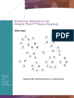 Checkpoint Rule Cleanup White Paper by FirePAC V1.1
