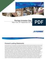 Perrigo Investor Powepoint - Full Presentation FINAL-FINAL