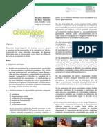Convocatoria al Reconocimiento a la Conservación de la Naturaleza 2011