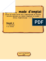 Quebec Mode d Emploi 4