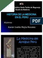 historia de la medicina en el Perú