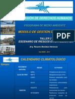 Escenarios de Riesgos en la Región Ica