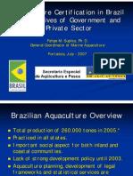02 Aquaculture Certification in Brazil