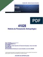 41028-HistóriadoPensamentoAntropológico