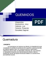 QUEMADOS - Presentación