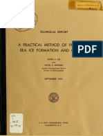A Practical Method of Predicting Sea Ice Formation and Growth (1954)