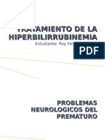 Tratamiento de La Hiperbilirrubinemia Roy Modificado