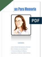 Tecnicas Para Memoria