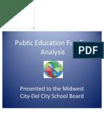 public education funding analysis ed7822