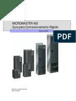 Guia para Comissionamento Rápido MM430