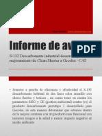 Informe prototipo 1 S-132 descarbonante industrial Shester